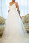 Eugeny White Beaded A-Line Bridal Dress | Boudoir 1861
