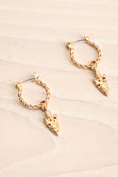 Euphyllia | Gold Hoop Earrings