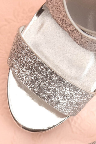 Frehel Silver Glitter High Heeled Sandals | Boutique 1861 2