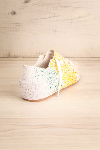 Gabon Dragon Rainbow Splatter Laced Shoes | La Petite Garçonne Chpt. 2 8