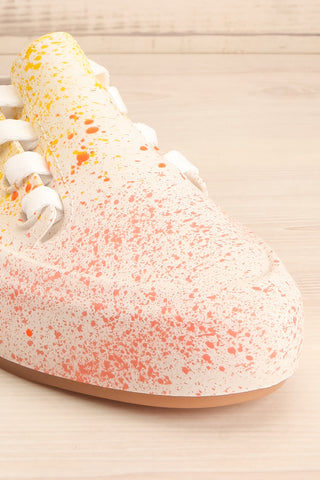 Gabon Dragon Rainbow Splatter Laced Shoes | La Petite Garçonne Chpt. 2 4