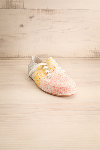 Gabon Dragon Rainbow Splatter Laced Shoes | La Petite Garçonne Chpt. 2 3