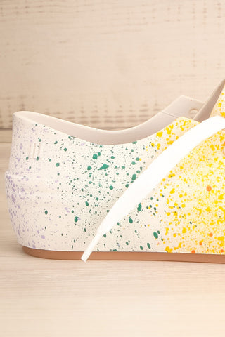 Gabon Dragon Rainbow Splatter Laced Shoes | La Petite Garçonne Chpt. 2 6