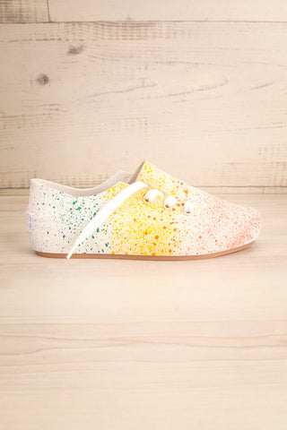 Gabon Dragon Rainbow Splatter Laced Shoes | La Petite Garçonne Chpt. 2 5