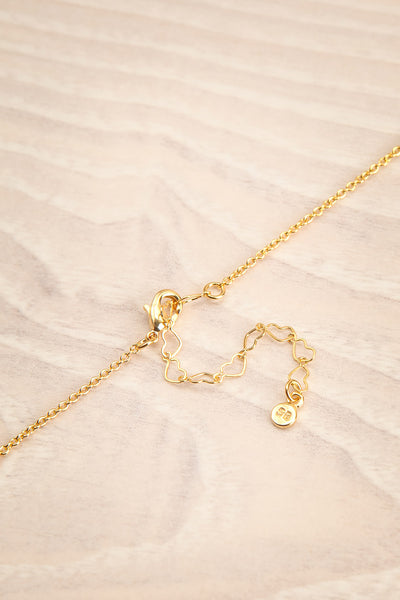 Geillis Gold Heart Necklace | Collier | La Petite Garçonne closure