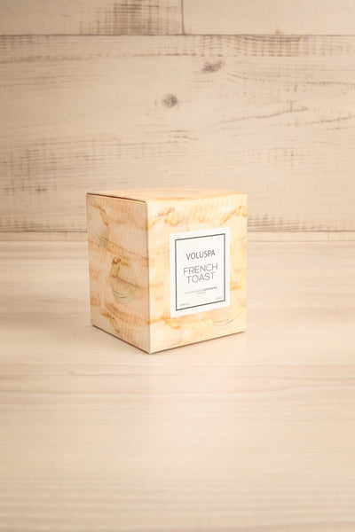 Glass Candle French Toast | Voluspa | Boutique 1861 box