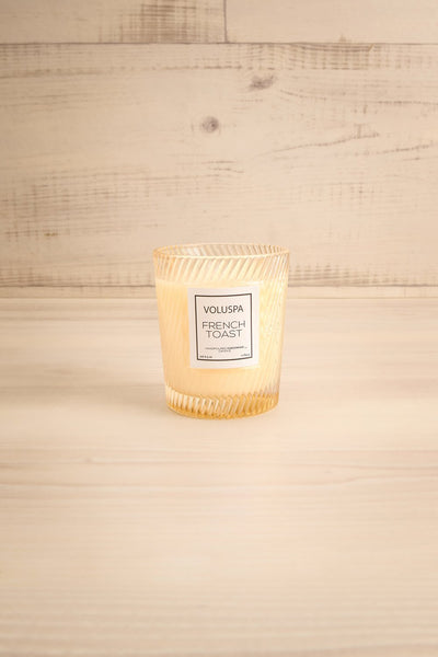Glass Candle French Toast | Voluspa | Boutique 1861 front
