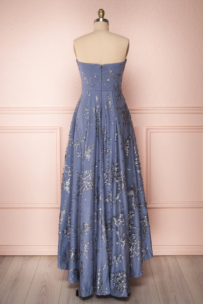 Gustavia | Blue Shimmering Gown