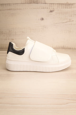 Harley White & Black Matt & Nat Sneakers side view | La Petite Garçonne