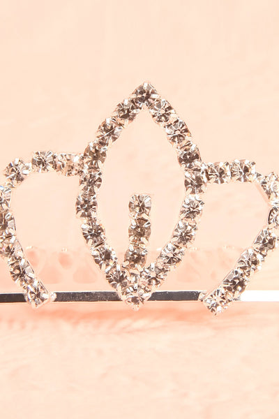Hera - Clear crystals hair comb