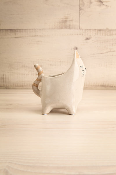 Here Kitty Planter Ceramic 2 Options | La petite garçonne side view