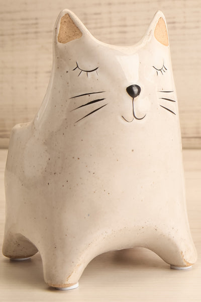 Here Kitty Planter Ceramic 2 Options | La petite garçonne close-up