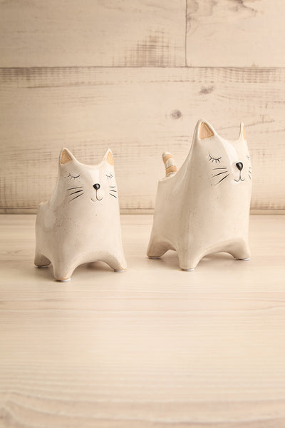 Here Kitty Planter Ceramic 2 Options | La petite garçonne choices
