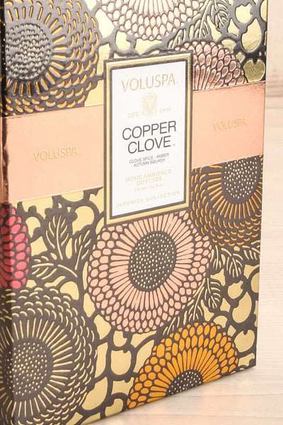 Home Diffuser Copper Clove | La petite garçonne box close-up