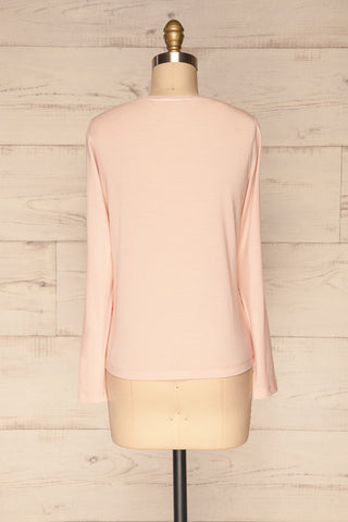 Huddinge Light Pink Long Sleeved T-Shirt back view | La Petite Garçonne