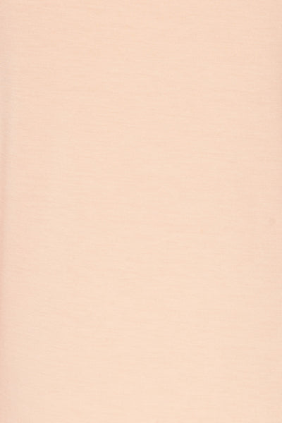 Huddinge Light Pink Long Sleeved T-Shirt fabric detail | La Petite Garçonne