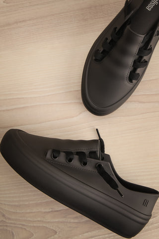 Hulot Black Laced Slip-On Shoes | La Petite Garçonne Chpt. 2