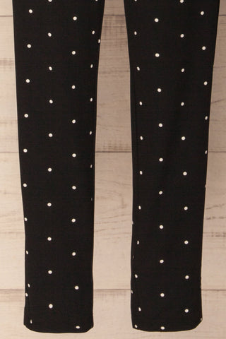Humpolec Black and White Polka Dot Pants | La Petite Garçonne