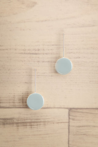 Impetus Blue Pendant Earrings | La Petite Garçonne Chpt. 2