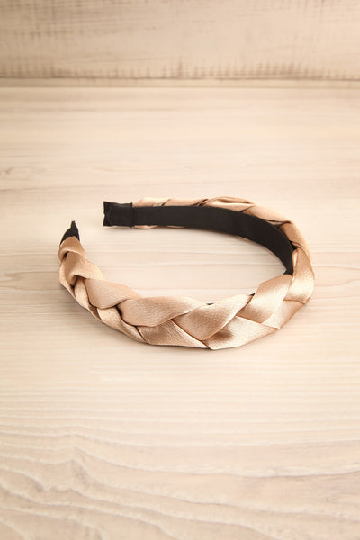Jadea Gold | Satin Braided Headband