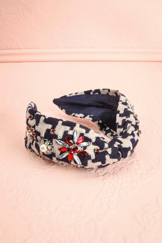 Jaipongan Colourful Beaded Bow Fabric Headband | Boutique 1861