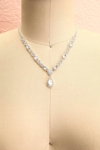 Jakobina Crystal Pendant Necklace | Boutique 1861