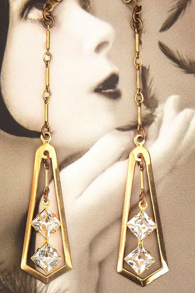 Jayne Mansfield | Pendant Earrings
