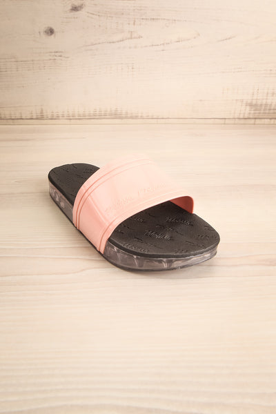 Joubert Blush & Black Slip-On Sandals | La Petite Garçonne Chpt. 2 3