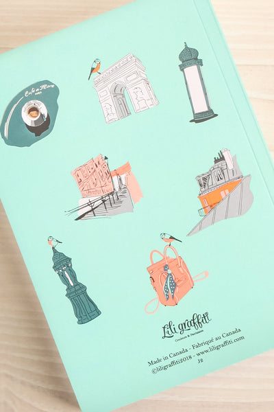 Journal Paris Iconography Notebook | La Petite Garçonne Chpt. 2 2