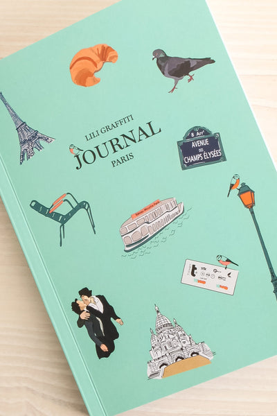 Journal Paris Iconography Notebook | La Petite Garçonne Chpt. 2 4