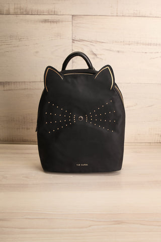 Katt Black Cat Ted Baker Backpack | La Petite Garçonne Chpt. 2