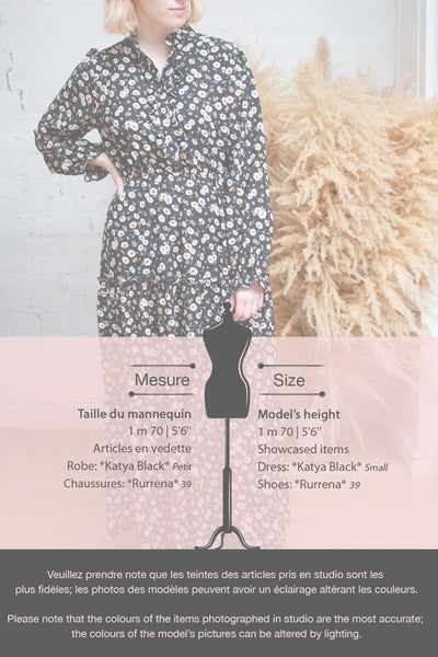 Katya Beige Floral Long Sleeve Maxi Dress | Boutique 1861 fiche