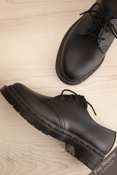 Kingswood Leather Black Dr. Martens Shoes | La Petite Garçonne Chpt. 2 1