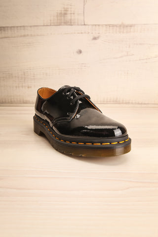 Kingswood Patent Black Dr. Martens Shoes front view | La Petite Garçonne Chpt. 2