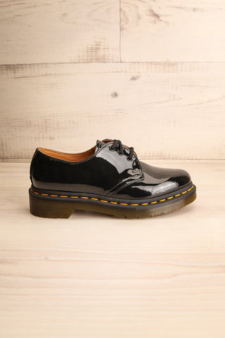 Kingswood Patent Black Dr. Martens Shoes side view | La Petite Garçonne Chpt. 2