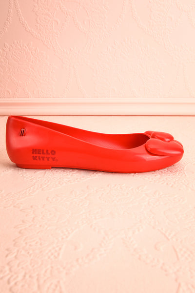 Kurume Red Hello Kitty Ballet Flats with Bow | Boutique 1861 5