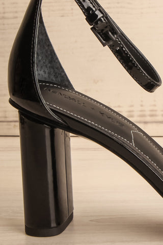 Lakonia Black Heeled Sandals side close-up | La Petite Garçonne Chpt. 2 7