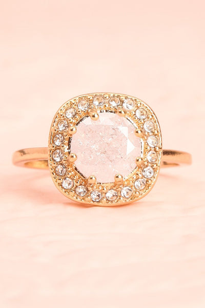 Latum Diamant Golden & White Statement Ring | Boutique 1861 3