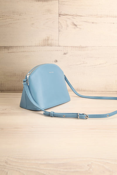 Leona Bleu Matt & Nat Crossbody Bag | La petite garçonne side view