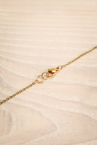 Lois Gold Pendant Necklace | Collier | La Petite Garçonne closure