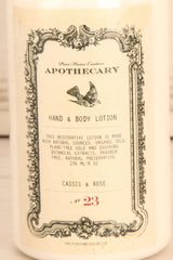 Lotion Cassis & Rose - Perfumed cream body lotion