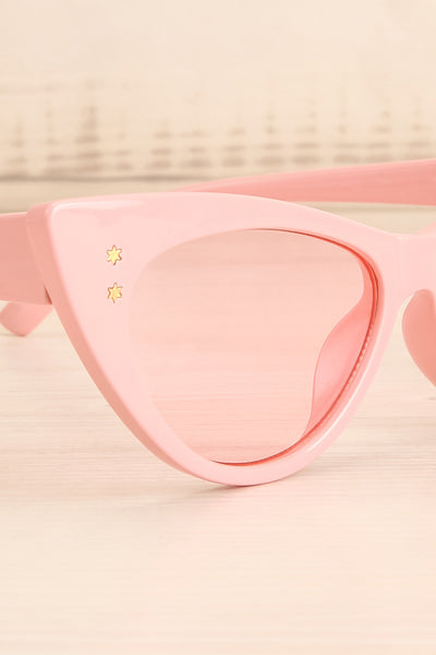 Lutin Rose Light Pink Cat-Eye Sunglasses | La Petite Garçonne 2