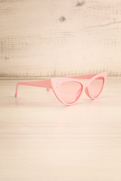 Lutin Rose Light Pink Cat-Eye Sunglasses | La Petite Garçonne 3