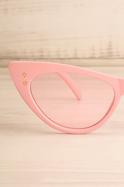 Lutin Rose Light Pink Cat-Eye Sunglasses | La Petite Garçonne 5