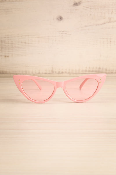 Lutin Rose Light Pink Cat-Eye Sunglasses | La Petite Garçonne 1