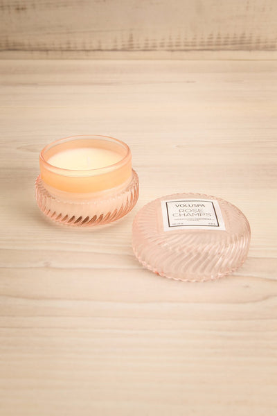 Macaron Candle Rose Champs | Voluspa | Boutique 1861 open