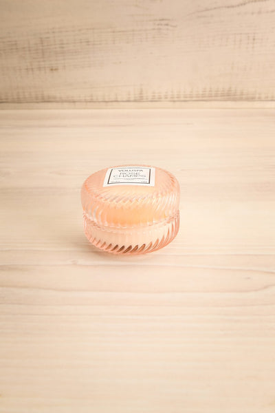Macaron Candle Rose Champs | Voluspa | Boutique 1861 front
