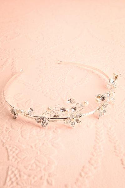 Magicae Silver Headpiece with Crystals & Pearls | Boudoir 1861