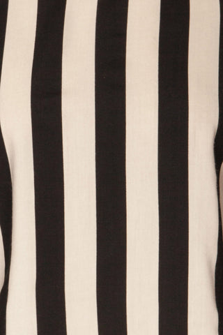 Manyatin Black & White Striped Short Sleeved Top | La Petite Garçonne 8