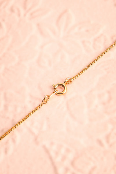 Mary Nolan Dainty Golden Pendant Necklace with Pearl | Boutique 1861 5